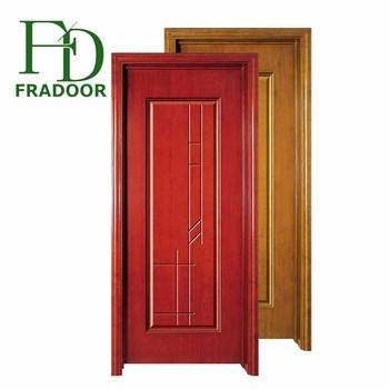 2018 Popular New Design Cheapest Bedroom Mdf Wood Door Made In China Buy Modern Wood Door Designsteak Wood Door Designinterior Solid Wooden Doors