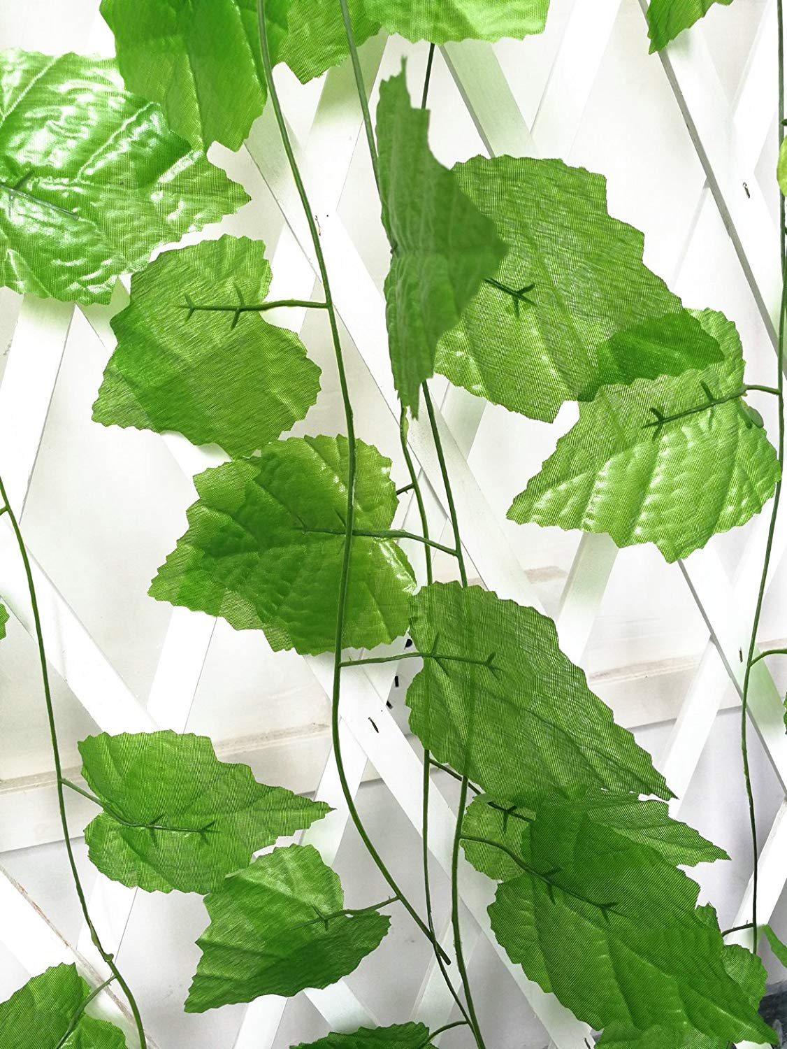 ShinyBeauty artificial vines with leaves artificial vines with leaves and flowers artificial ivy planter 96 Ft - 12