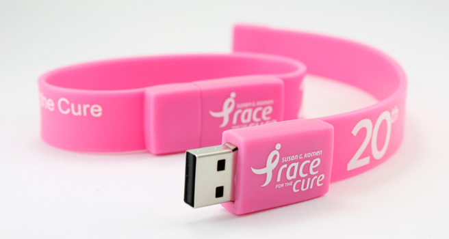 wrist band braclet usb 8gb slap wrist usb flash drive