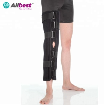 Tri-Panels Foam Fracture Leg Splint Knee Immobilizer