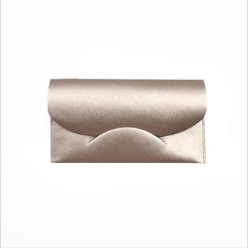 Free Sample Custom Premium Creative Wedding New Year Gift Red Packet Luxury Leather Money Envelope Pouch