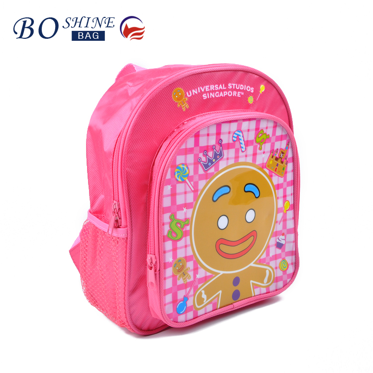 OEM/ODM factory jacquard school bag 3D printing children backpack bag