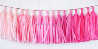 wedding party decorations balloon tassel