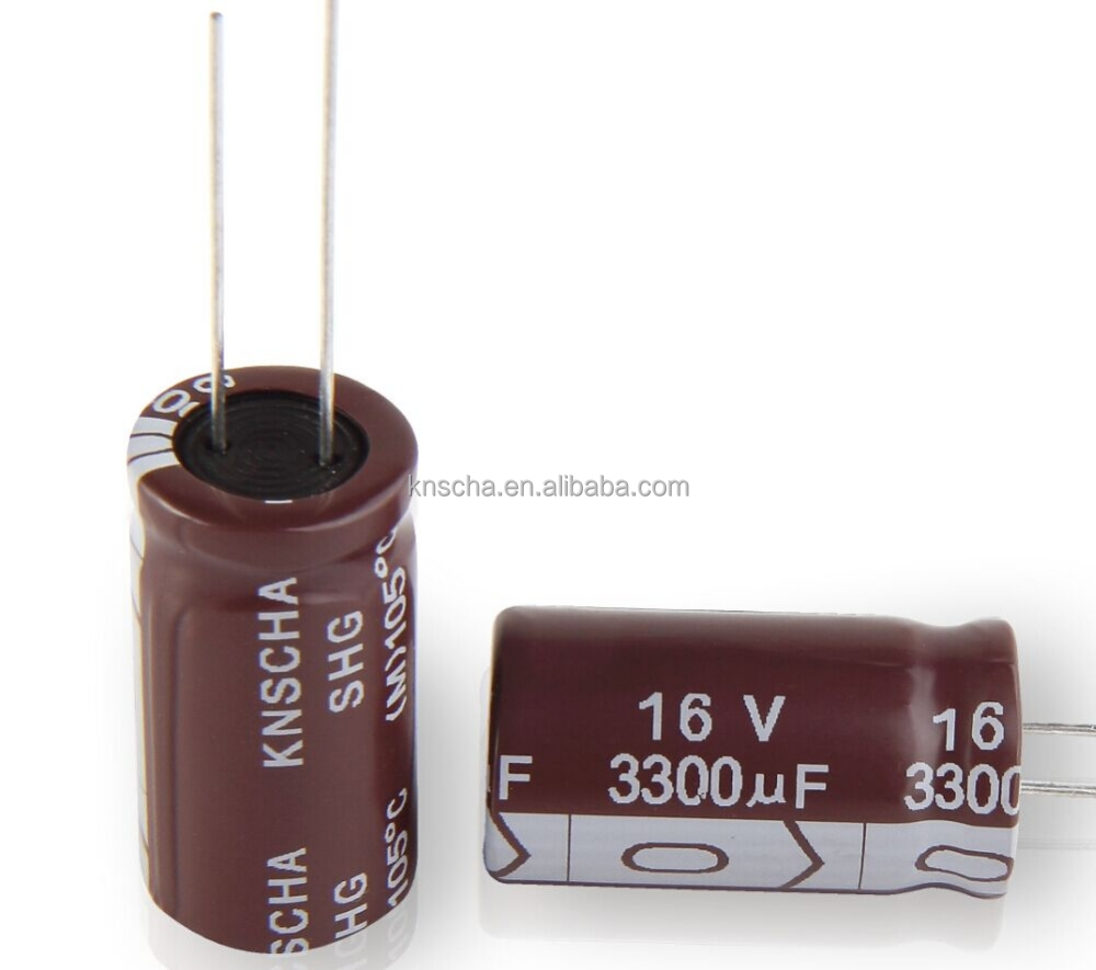 KNSCHA Aluminum electrolytic capacitor 1000uF 35V ,Low impedance,good use in stage lighting