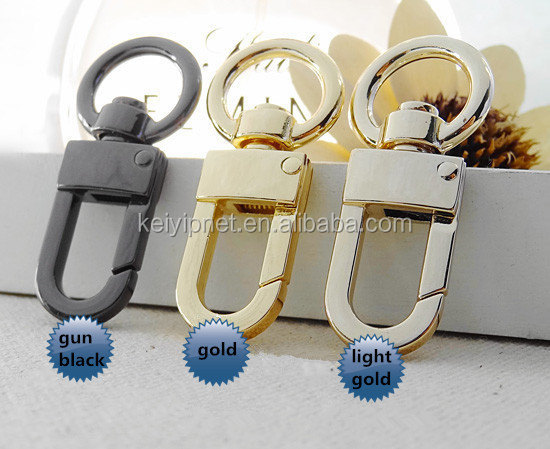 45x20mm Claw Lobster Clasps, Swivel Trigger Clips Snap Loop, Belt Buckle Hoop,Keychain Strap Spring Hooks
