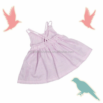 Unique Party Baby Girl Names Dress Simple Style Long Frock Stripe Dress  Suits - Buy Children Frocks Simple Dresses,Baby Party Sunsuit Designs,Frock