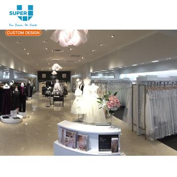 Shop Fitting Wedding Decoration Furniture Wedding Dress Display Case
