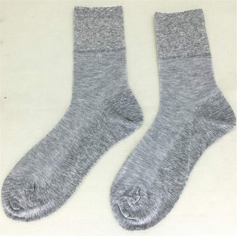 d7965fe04a Get Quotations · Socks socks for the elderly Combed cotton Men's wide socks  Loose foot mesh Breathable tube socks