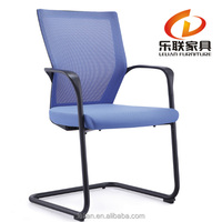 Mid Back Blue Mesh Executive & Managerial Computer Desk Swivel Office Chair with Headrest and Flexible Arm Rest 808G2