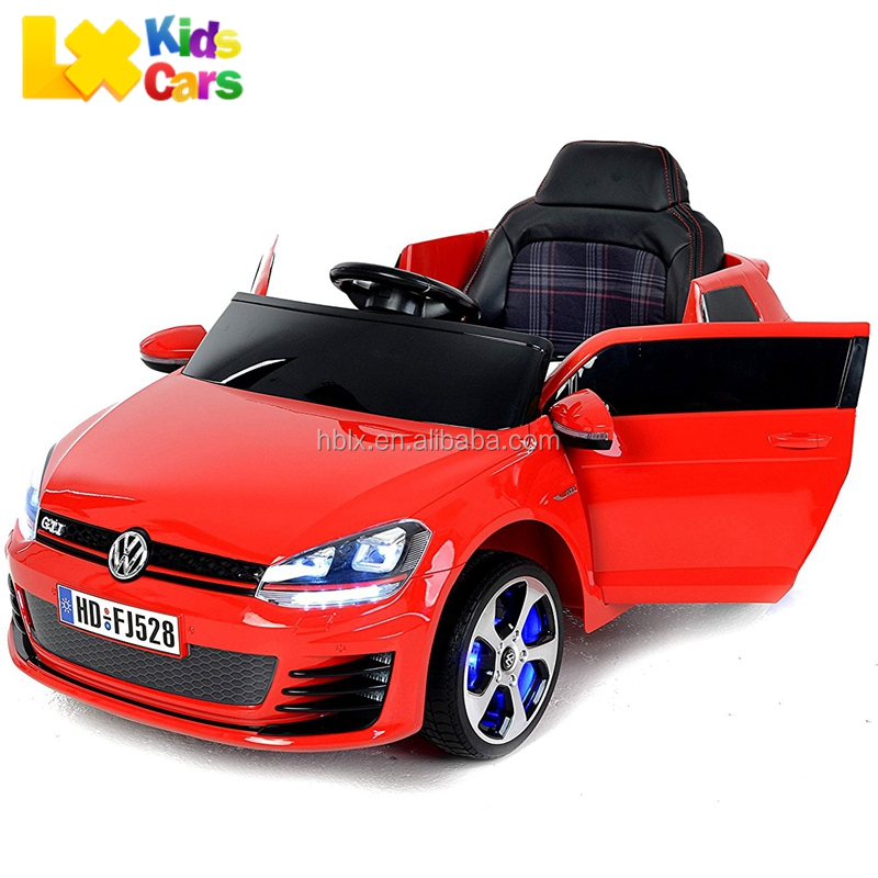 Volkswagen VW Golf Gti Licensed ride on battery operated kids baby car, electric car for kids with remote control