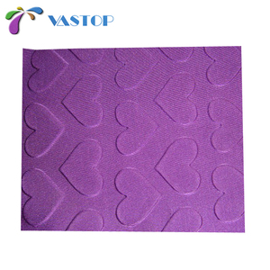 Perforated rubber Breathable Neoprene embossed pattern fabric sheet