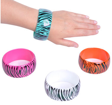 2013 new zebra print bangle