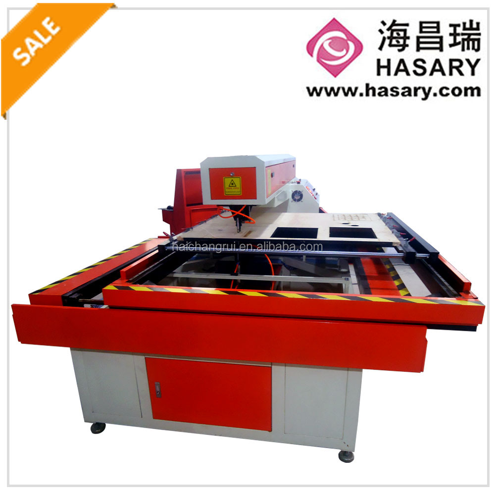 CE FDA SUG GB approved 25mm 0-12000mm/min wood die cutting machine