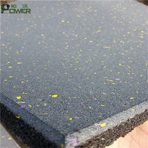 Best price professional noise reducing used recycled tire rubber mat
