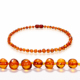 Real Baltic Amber beads Necklace Amber Baby Teething Necklace