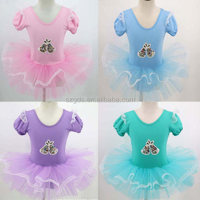 Kids Toddler Girls Ballet Gymnastics Tutu Dress Leotard Dance Wear Skirt Costume