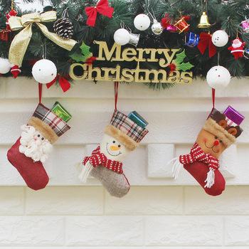 Christmas Bags In Bulk.Mini Christmas Stocking Gifts Bags Wholesale Bulk Animal Christmas Stocking Lovely Christmas Socks Buy Santa Snowman Bottle Sets Christmas Home