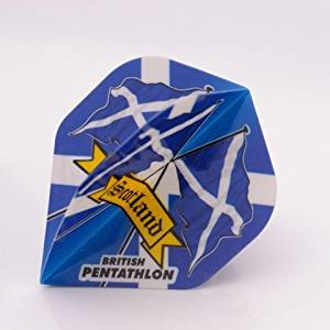 3 x SETS PENTATHLON Darts Flights Scotland Standard