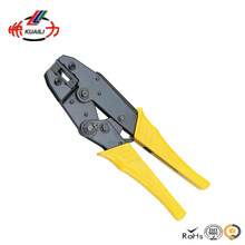 Crimping Tool Crimping Pliers HS-08FL Piler Capacity 4.8-6.3mm2 20-13AWG For Flag Type Female Receptacles Insulated Terminals