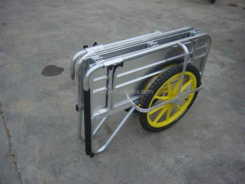 Aluminium Garden Cart Folding Aluminium Hand Cart Collapsible
