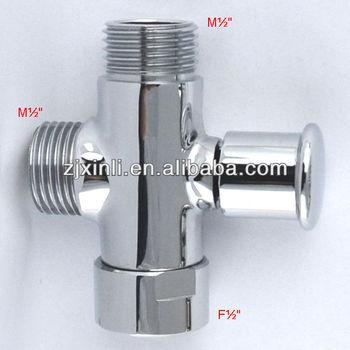 Brass Diverter Valve, Shower Kit Water Separate Water Diverter, M1/2u0026quot;