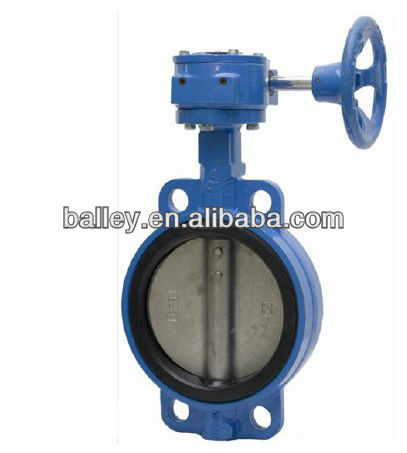 Api 609/en 593 Wafer Butterfly Valve With Epdm/nbr Seat Pn10/16 ...