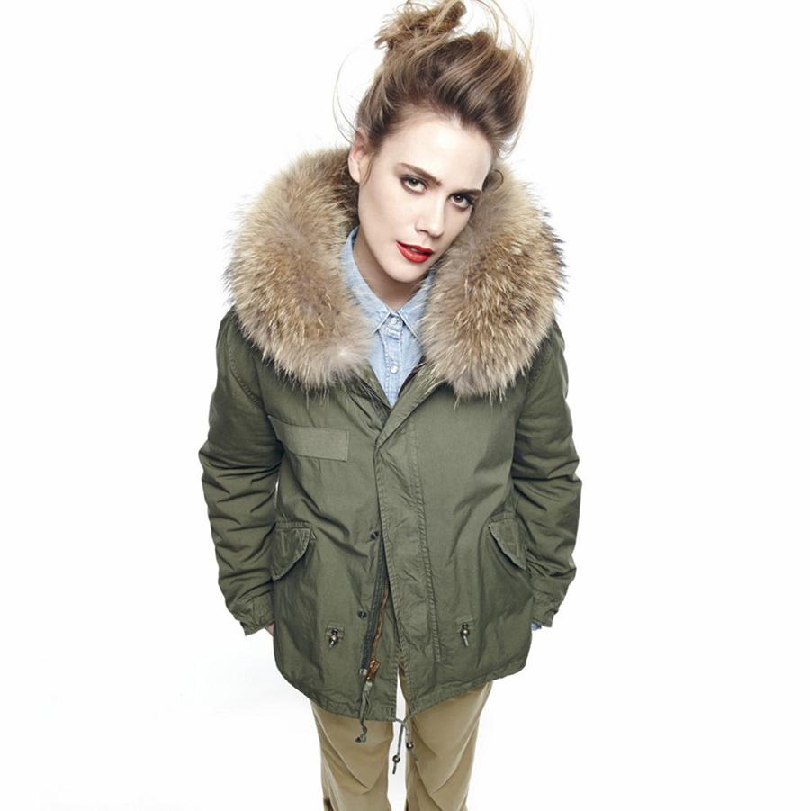 Aliexpress.com : Buy Winter Jacket Women Real Large ...