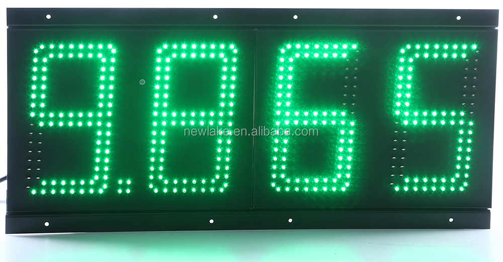 Hot sell remote control  8888 LED display   for gas station  in    European countries