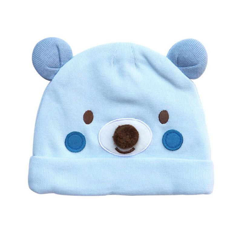 d84956eb43976 Personalizado animal patrón niño infantil de invierno sombrero grueso de  algodón puro bebé recién ...