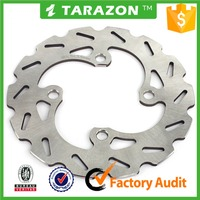 Whole sale high quality ATV quad bike front disc brake rotor for TRX 420