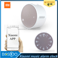New 2016 Original Xiaomi Mi Music Alarm Clock Bluetooth 4.1 360-Hours-Standby Speaker Mi Alarm Clock - White