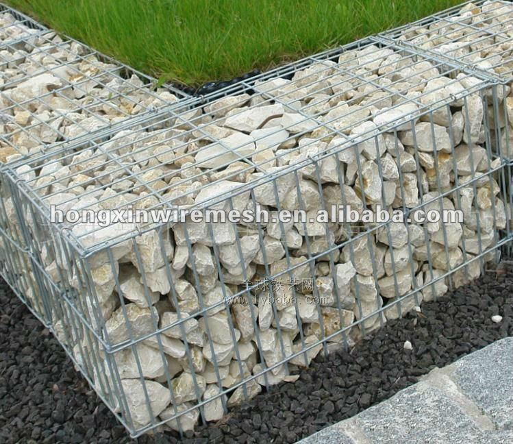 wire cages rock retaining wall Factory