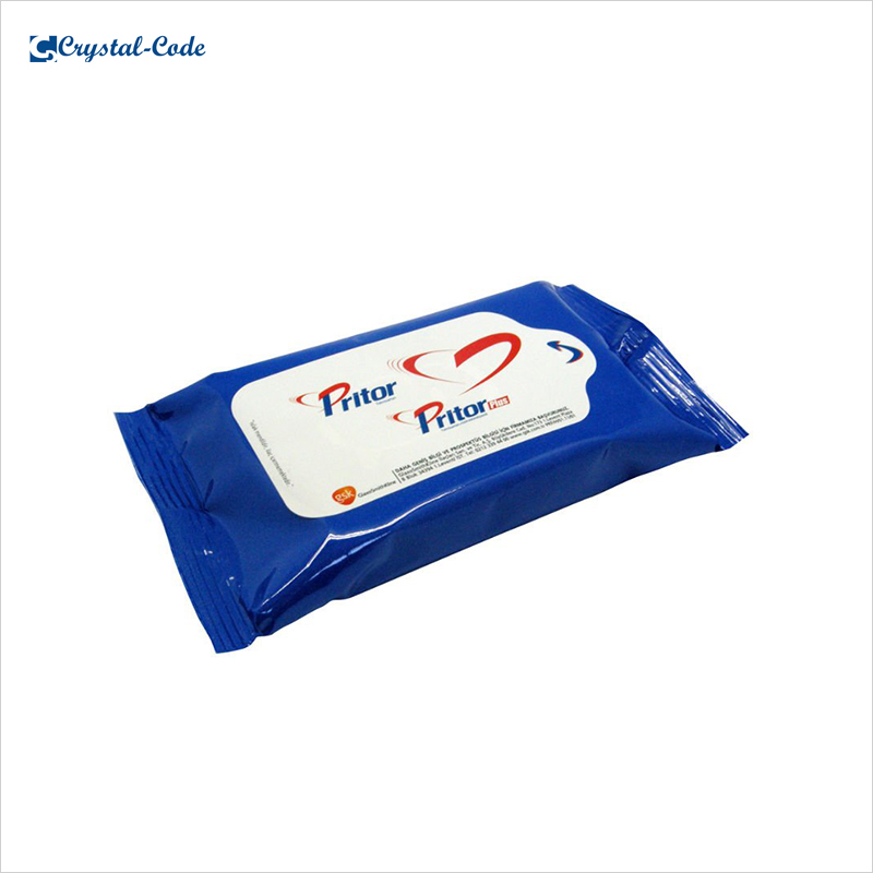 Logo printing durable baby wet wipes sticker