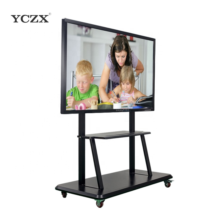 "75 ""YCZX draagbare LCD touch screen monitor interactieve whiteboard wiht pc/smart tv voor kind"