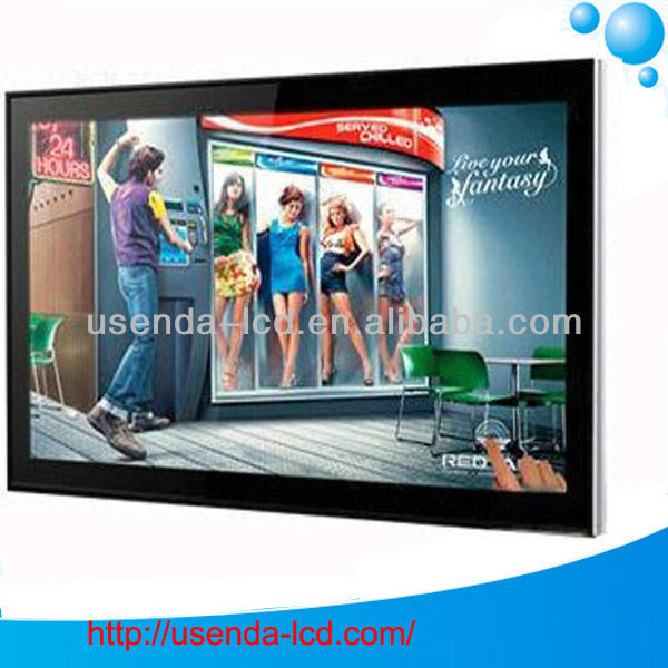 65 inch outdoor waterproof lcd tv digital signage wall mounted information kiosk