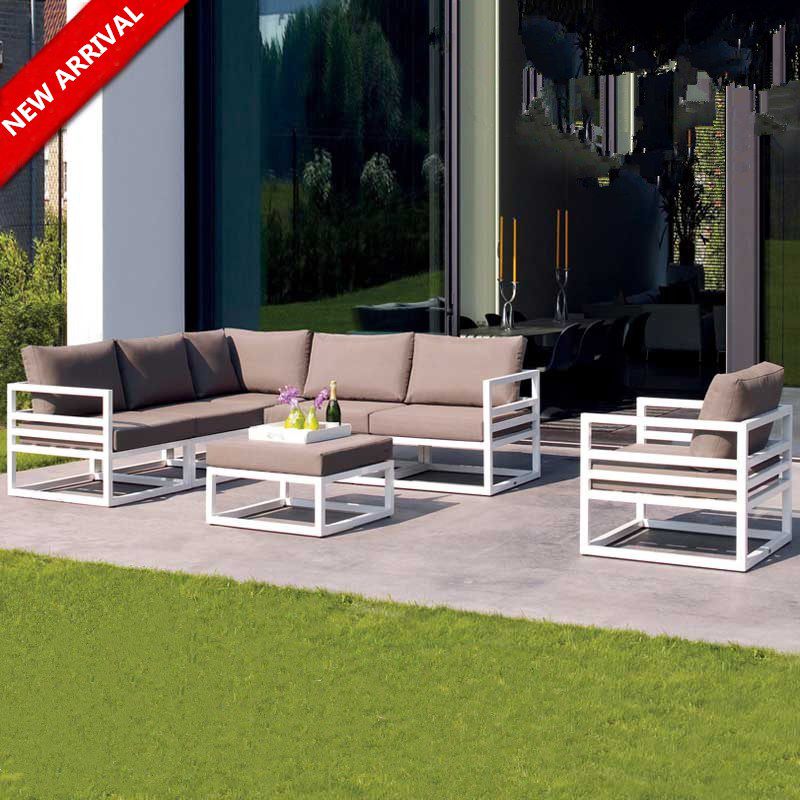 2017 Latest Design Outdoor Metal Sofa Set Designs