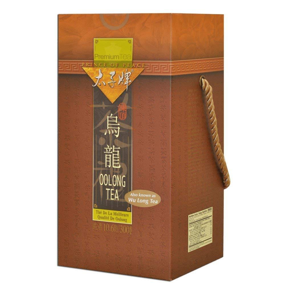 Prince of Peace - Premium Oolong Tea (Wu Long Tea) Gift Box (NET WT 10.6 OZ (300 g) (Pack of 1)