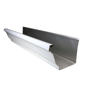 Half Round Aluminum Extrusion Gutter Rain Gutter Profile For Channel Letter price per kg