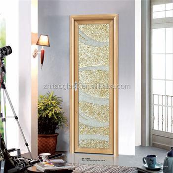 Modern Kitchen Interior Glass Swing Half Door Design Buy