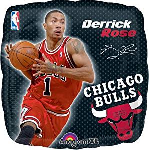 9370818057e2 Get Quotations · LuftBalloons Std NBA Bulls Derrick Rose