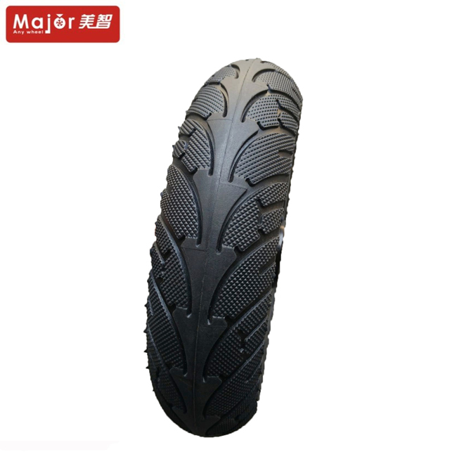 200mm scooter parts 200x50 semi pneumatic wheel rubber tyre for wheelchair
