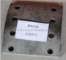 Wholesale high quality factory supplier Rear brake pad truck spare parts