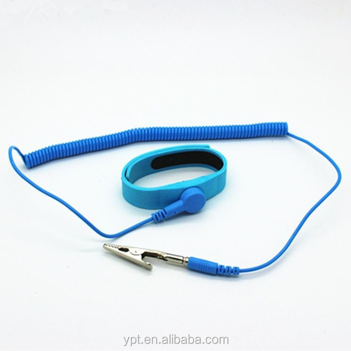 Antistatic silicone wrist strap ESD wrist strap with high quality