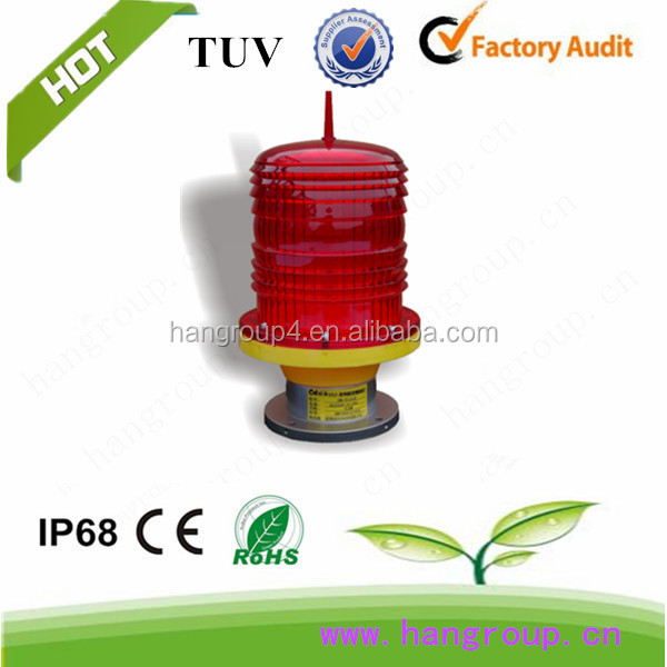 Red low intensity type B aviation obstruction light