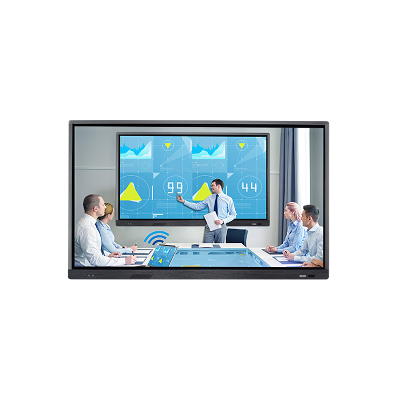 Gaoke 86 inch 4 k resolutie 10 punten touch interactieve touch flat panel/touch screen monitor all in one pc