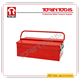 Portable Cantilever Metal Toolbox-With Five Trays