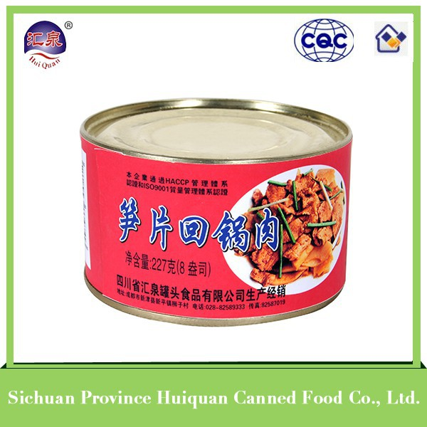 china wholesale market agents chinese food canned pork luncheon meat canned food