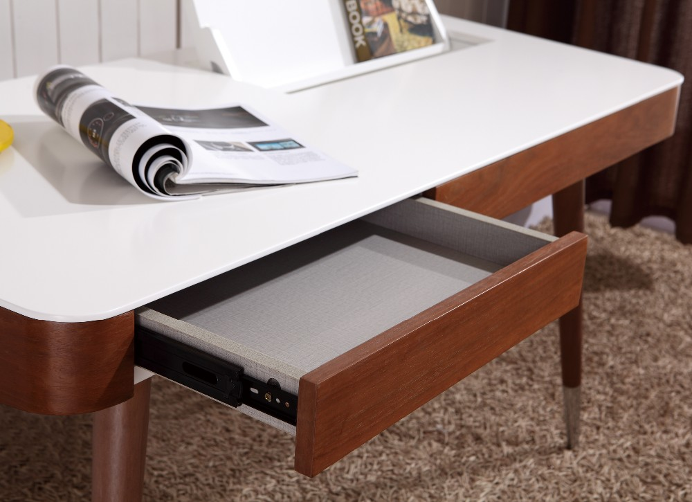 Nordique simple moderne style d étude À domicile table en bois