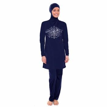 Badpak.2017 Muslim Swimwear Badpak Women Islamic Swimming Clothes
