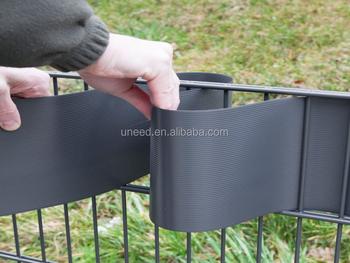 Uneed Strip Hard Pvc Fence For Privacy Garden Protection 2 52m 19cm Sichtschutz Windschutz Hart Pvc Streifen Garten Zaun Buy Sichtschutz Garten